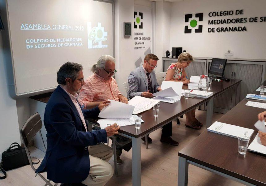 La Asamblea General Ordinaria destaca la mejor etapa del Colegio de Mediadores de Seguros de Granada