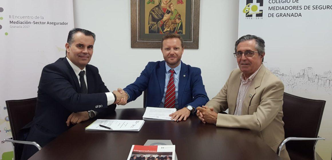 El Colegio de Granada cierra un nuevo convenio de colaboración con Liberty Seguros