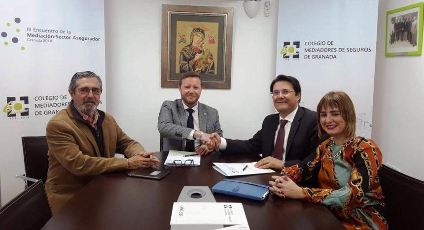 El Colegio de Mediadores de Seguros de Granada y FIATC Seguros renuevan su acuerdo protocolario