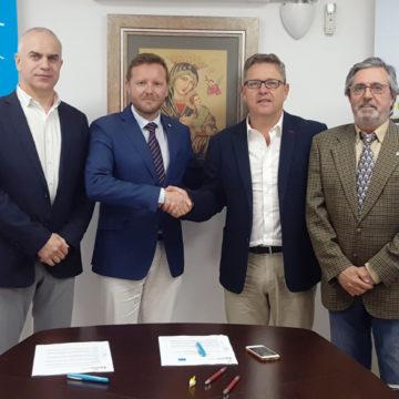 El Colegio de Mediadores de Seguros de Granada y Sanitas formalizan la renovación de su acuerdo protocolario