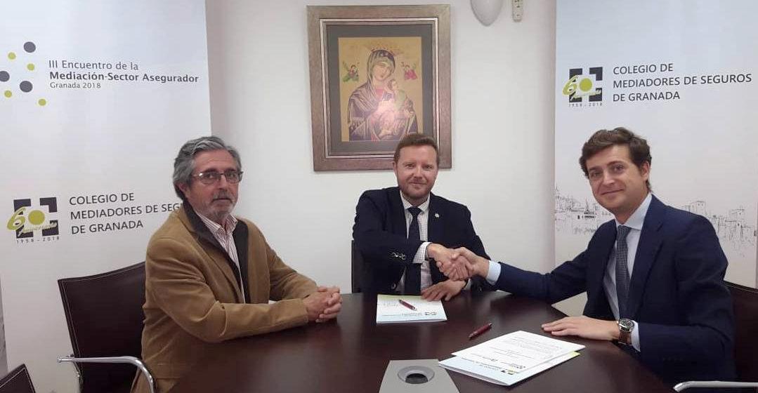 El Colegio de Mediadores de Seguros de Granada y Asefa Seguros renuevan su acuerdo de colaboración