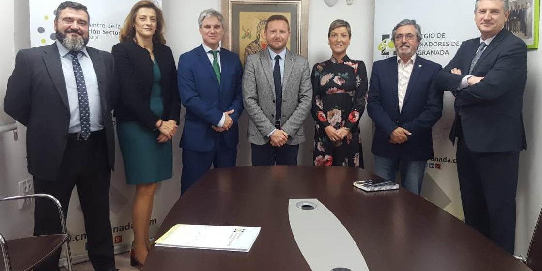 Reunión entre Allianz Seguros y el Colegio de Mediadores de Seguros de Granada