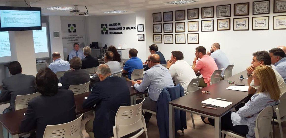 Mediadores de Seguros de Granada se forman junto a CASER acerca de las pólizas de transportes y los ciber riesgos del seguro