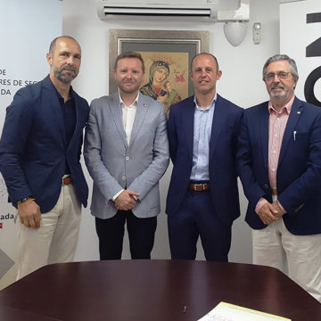 El Colegio de Mediadores de Seguros de Granada y AEGON formalizan la renovación de su acuerdo protocolario