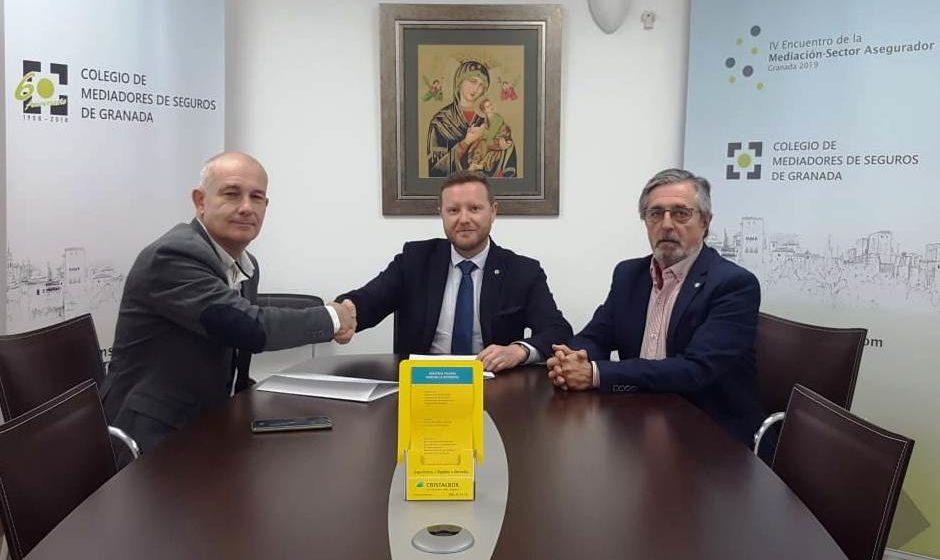 Los mediadores colegiados de Granada se beneficiarán de la renovación del acuerdo con CRISTALBOX