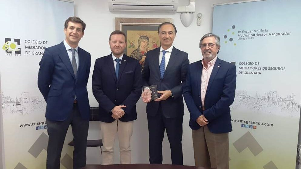 El Colegio de Mediadores de Seguros de Granada y Asefa Seguros renuevan su acuerdo protocolario