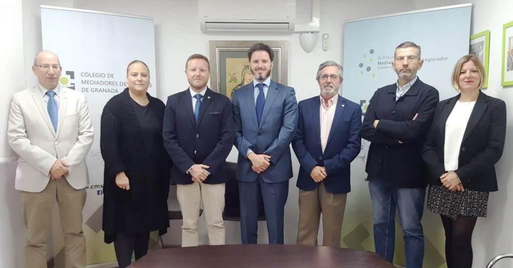 Los mediadores colegiados de Granada se beneficiarán del acuerdo del Colegio con la EIG