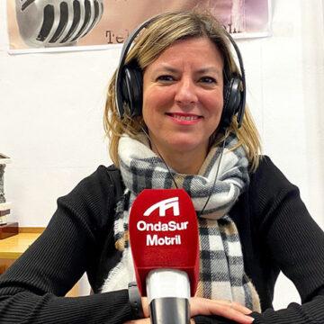 Entrevista a la vicepresidente colegial, Laura Molero, en Onda Sur
