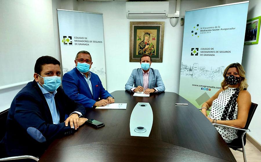 El Colegio de Mediadores de Seguros de Granada y DKV se comprometen a través de un acuerdo de colaboración